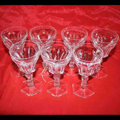 Kristallen glazen antiek