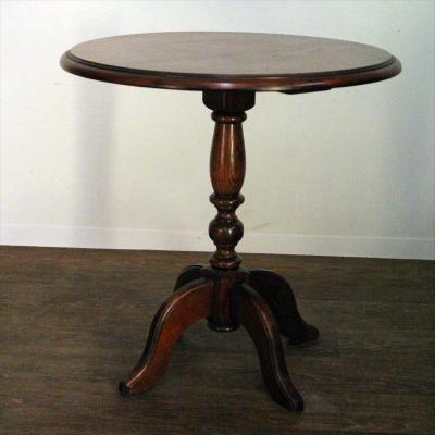 eiken houten bijzet tafeltje rond eiken houten bijzet tafeltje rond ...: www.doubleducks.nl/shop/antiek-curiosa/meubels/295/eiken-houten...